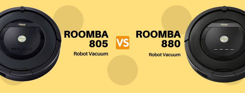 iRobot Roomba 805 vs 880 Review & Comparison