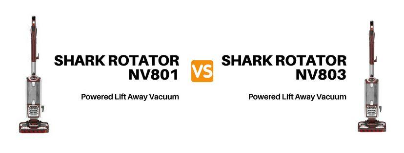 Shark Nv801 Vs Nv803
