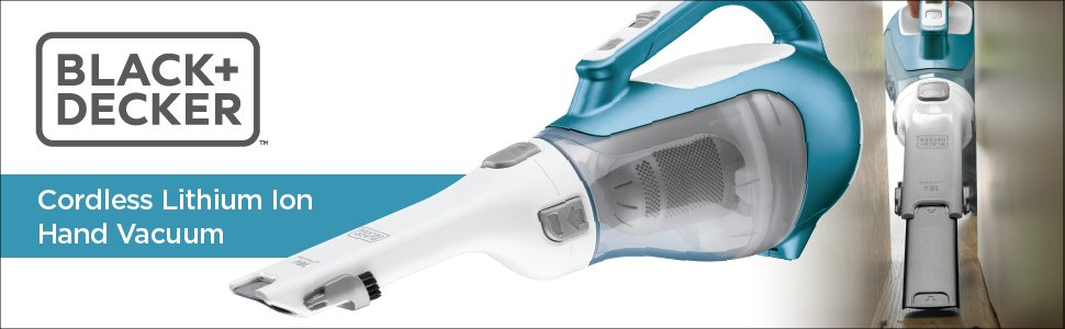 BLACK and DECKER CHV1410L_Cordless Small Vacuum