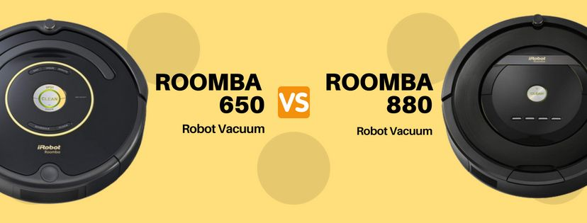 iRobot Roomba 650 vs 880 – Which One is the Best?