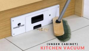 under cabinet kitchen vacuum