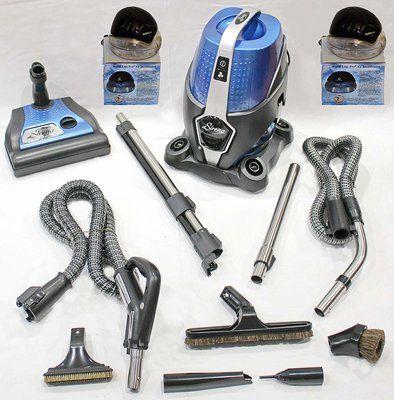 Sirena 2-speed water filtration vacuum