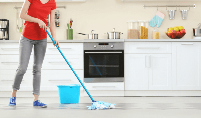 How To Clean Kitchen Floors?
